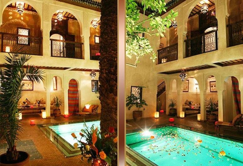 帕米耶爾庭院酒店, 馬拉喀什, 早餐區