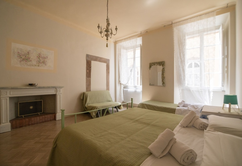 B&B Le Violette, Lucca, Quarto Familiar, Casa de Banho Privativa, Quarto