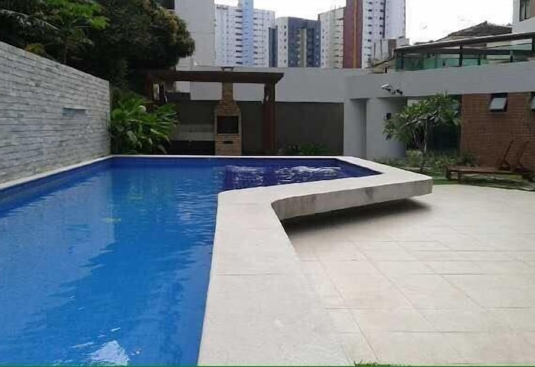 Flat Futuro Prince Premium, Recife, Açık Yüzme Havuzu