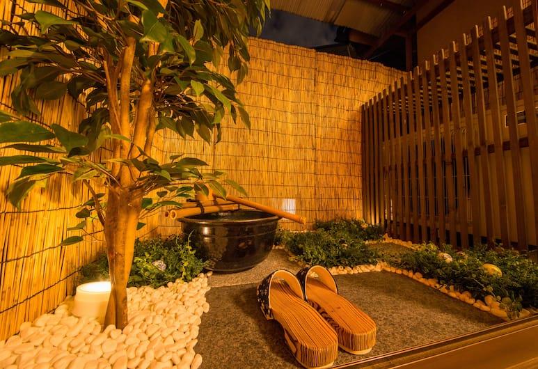 京都和水 JQ 別墅飯店, Kyoto, 露台
