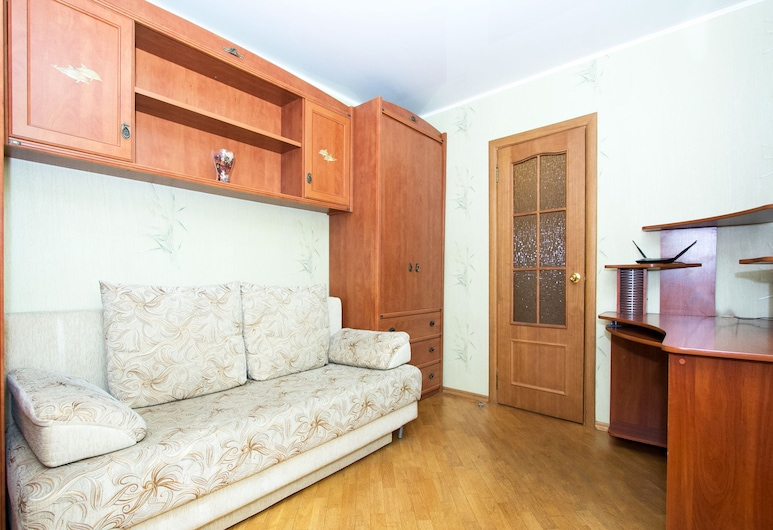 ApartLux Savelovskaya Suite, Moskwa, Apartament, 3 sypialnie, Pokój