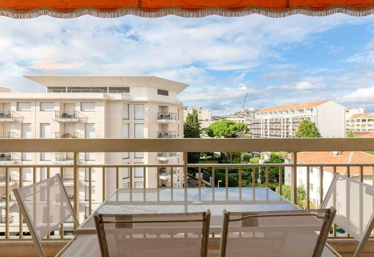 Apartment With one Bedroom in Cannes, With Wonderful City View, Furnished Balcony and Wifi - 250 m From the Beach, Cannes, Balkon
