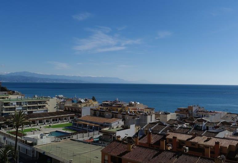 Studio in Torremolinos, With Wonderful sea View, Pool Access, Furnished Balcony - 100 m From the Beach, Torremolinos, Utsikt mot havet/stranden