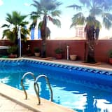 Villa With 4 Bedrooms in Playa Honda, With Wonderful Mountain View, Private Pool, Enclosed Garden - 300 m From the Beach
