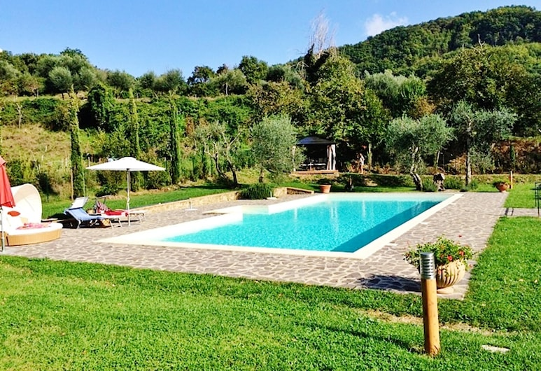 House With 4 Bedrooms in Montelaterone, With Wonderful Mountain View, Private Pool, Enclosed Garden - 19 km From the Slopes, Arcidosso, Piscina