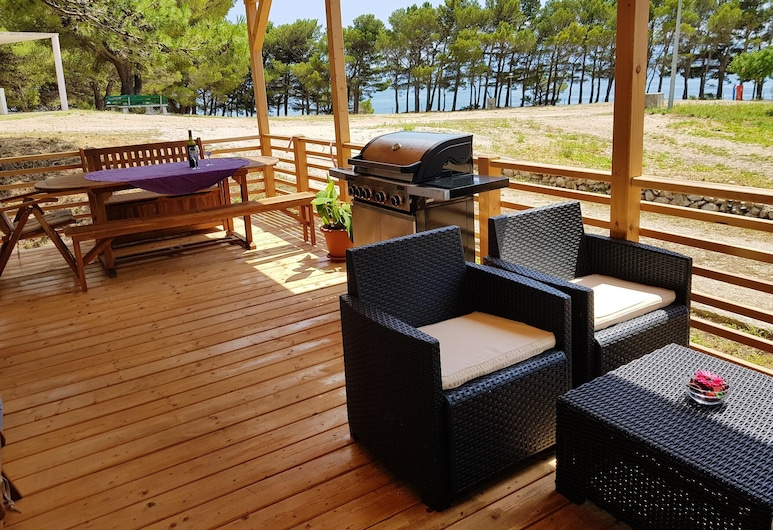 House With 2 Bedrooms in Živogošće, With Furnished Garden and Wifi - 200 m From the Beach, Podgora, Balkon