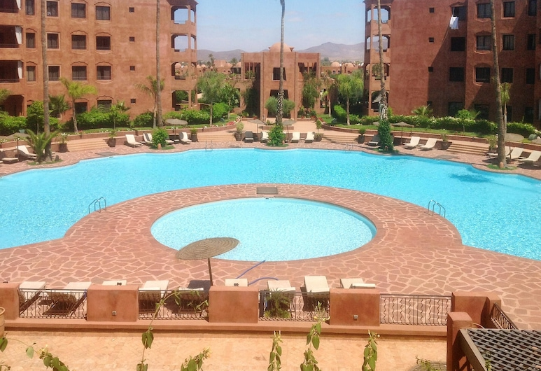 Apartment With 2 Bedrooms in Marrakech, With Shared Pool, Enclosed Garden and Wifi - 100 km From the Beach, Marrakech