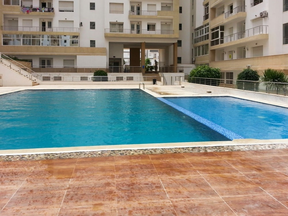 Ious 2 Bedroom Apartment With Swimming Pool Access And Balcony In Agadir 7km From