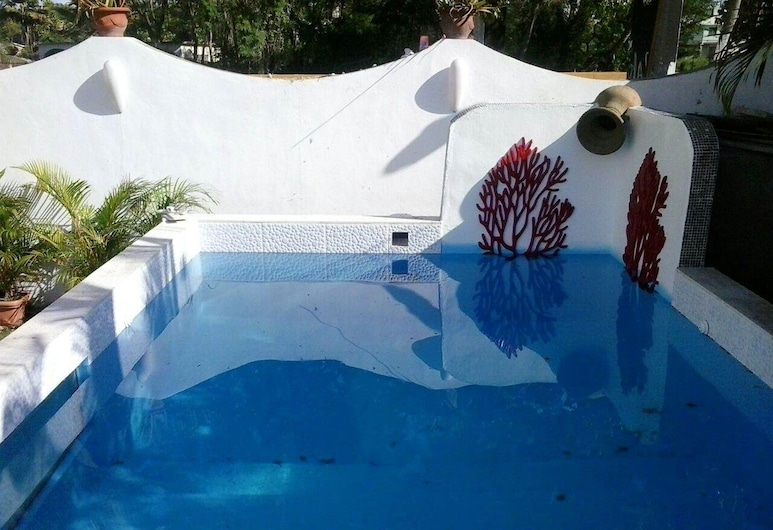 Apartment With 2 Bedrooms in Boca Chica, With Shared Pool, Furnished Terrace and Wifi - 600 m From the Beach, Boca Chica, Pool