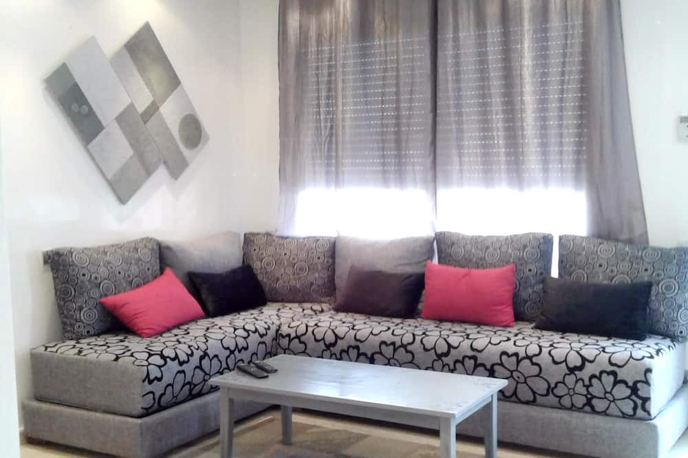 Apartment With one Bedroom in Casablanca, With Wonderful City View and Balcony - 4 km From the Beach