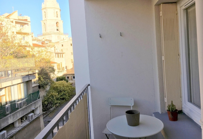 Studio in Marseille, With Furnished Balcony and Wifi - 2 km From the Beach, Marseille, Balcony