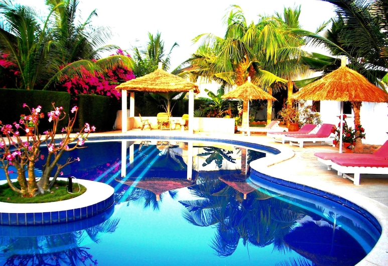 House With 3 Bedrooms in Saly, With Shared Pool, Enclosed Garden and Wifi - 300 m From the Beach, Mbour, Pool