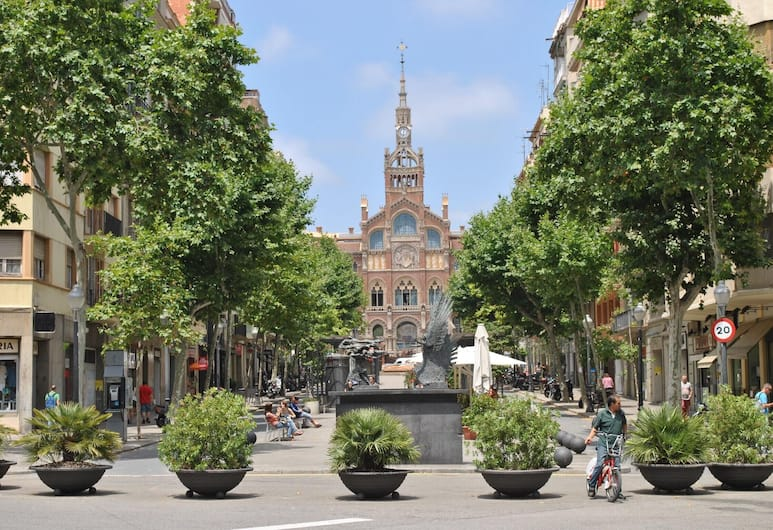 Apartment With 3 Bedrooms in Barcelona, With Wifi - 3 km From the Beach, Barcelona, Aerial View