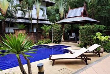 拉威拉威專屬花園 3 房之家酒店 - 附私人泳池及 Wi-Fi - 離海灘 2 公里的圖片