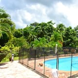 Villa With 2 Bedrooms in Gros-morne, With Private Pool, Terrace and Wifi - 10 km From the Beach