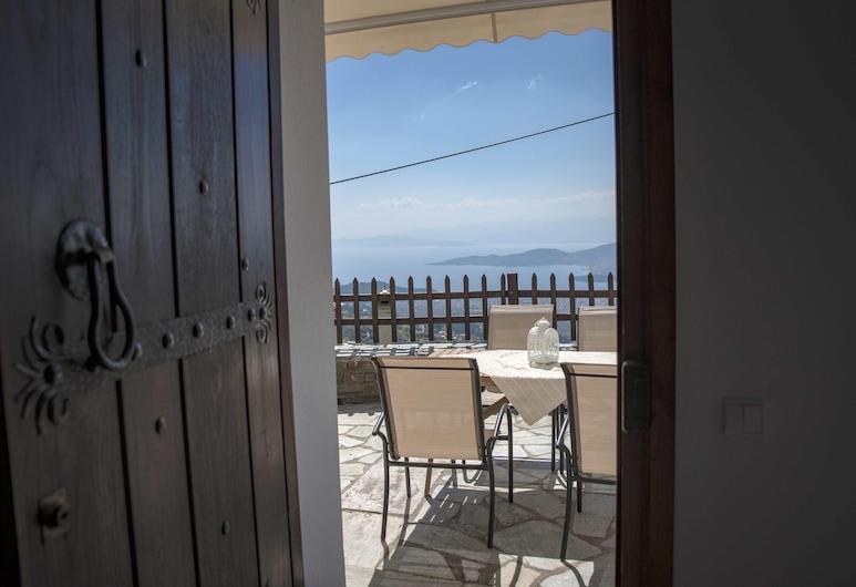 佛洛斯精彩海景 4 房之家酒店 - 附裝潢陽台及 Wi-Fi - 離海灘 6 公里, 佛洛斯, 露台