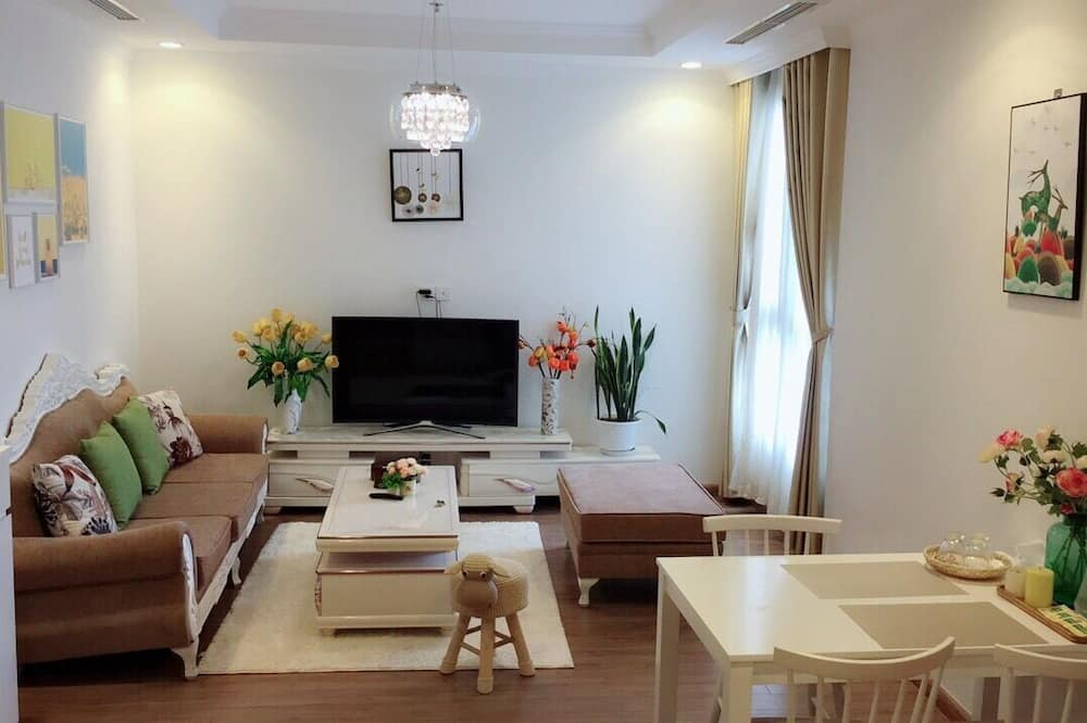 Economy-Apartment - Wohnzimmer