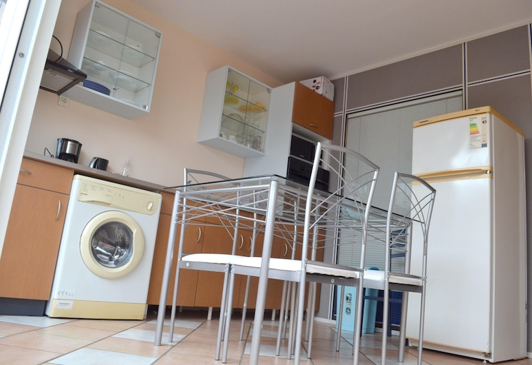 Apartment With one Bedroom in Le Diamant, With Enclosed Garden and Wifi, Le Diamant, Omaette köök