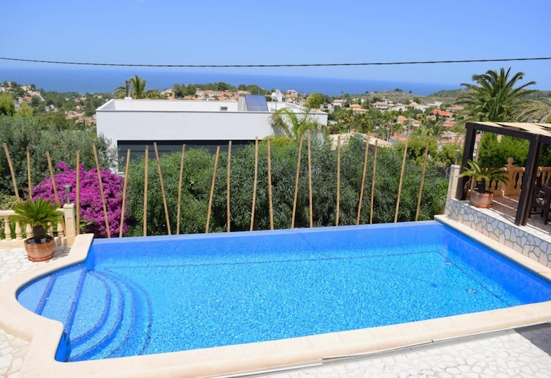 Villa With 4 Bedrooms in Dénia, With Wonderful sea View, Private Pool, Furnished Terrace - 4 km From the Beach, Denia