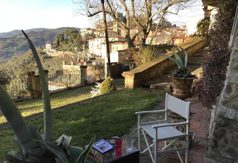 ديمورا بيلفيديري, Montecatini Terme, حديقة