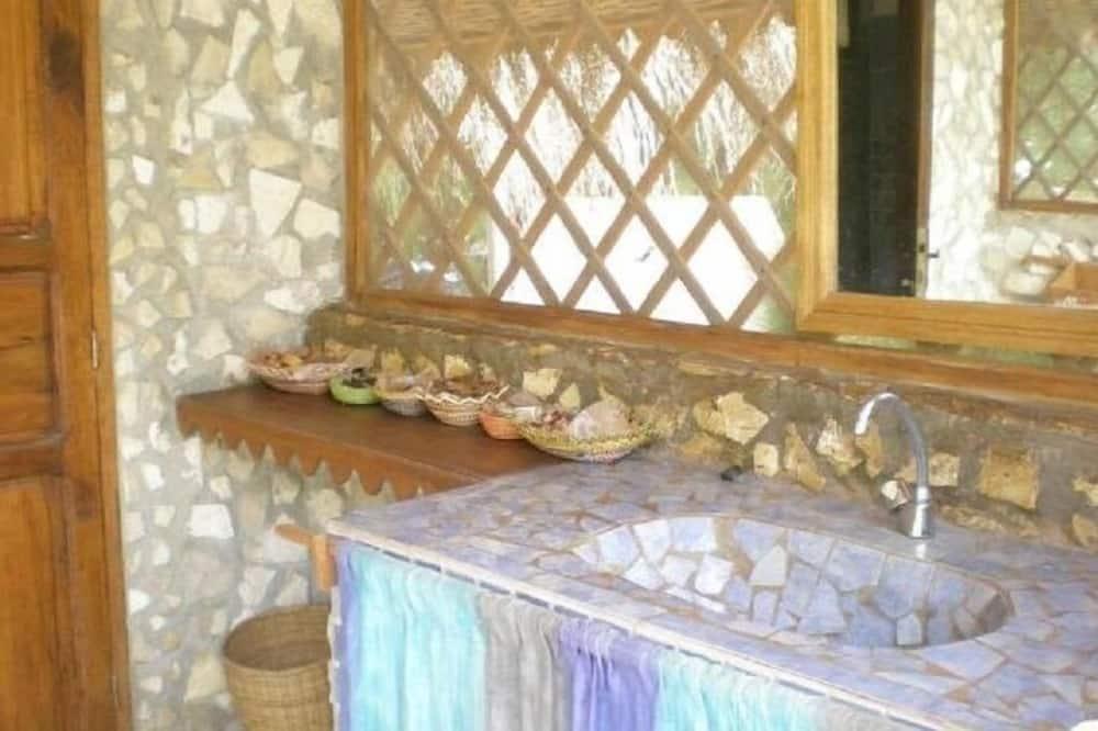 Telt - Badeværelse