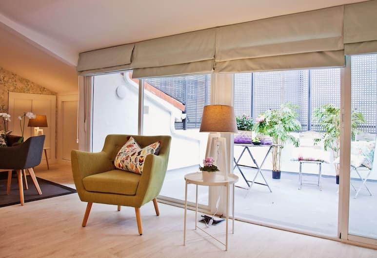 Feelathome Madrid Suites Apartments, Madrid, Apartment, 2Schlafzimmer, Terrasse, Terrasse/Patio