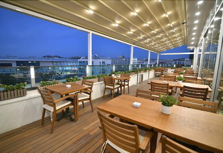Guvenay Business Hotel, Ankara, Teras/Veranda