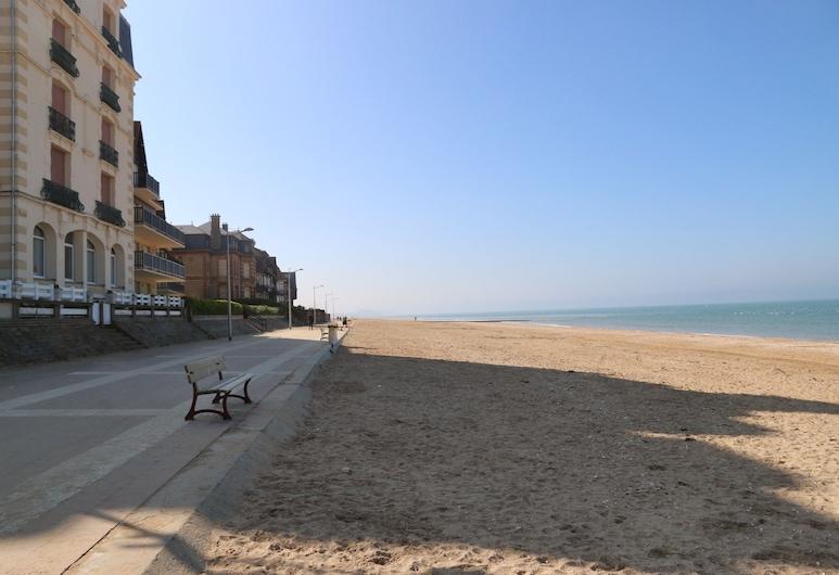 Hôtel Villa les Bains, Houlgate, Pantai