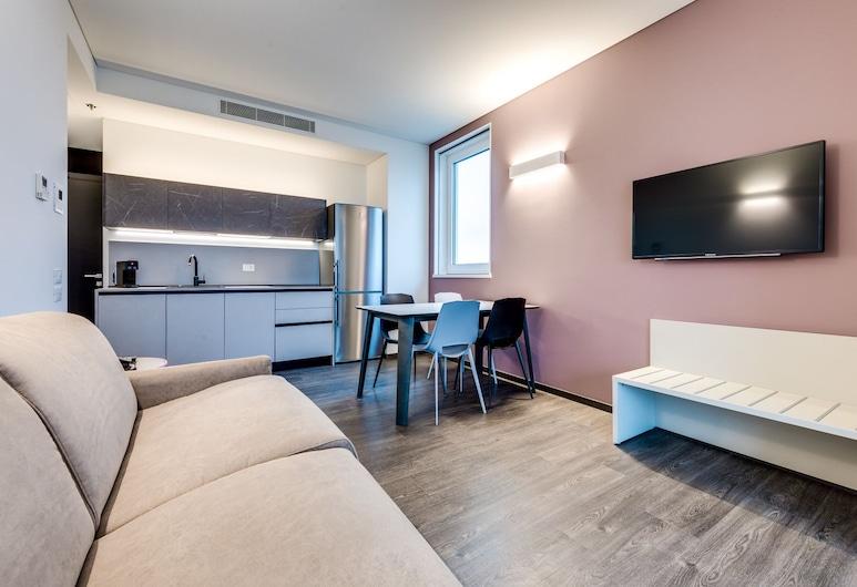 Sky Tower Suite, Mestre, Suite Premium, Sala de estar