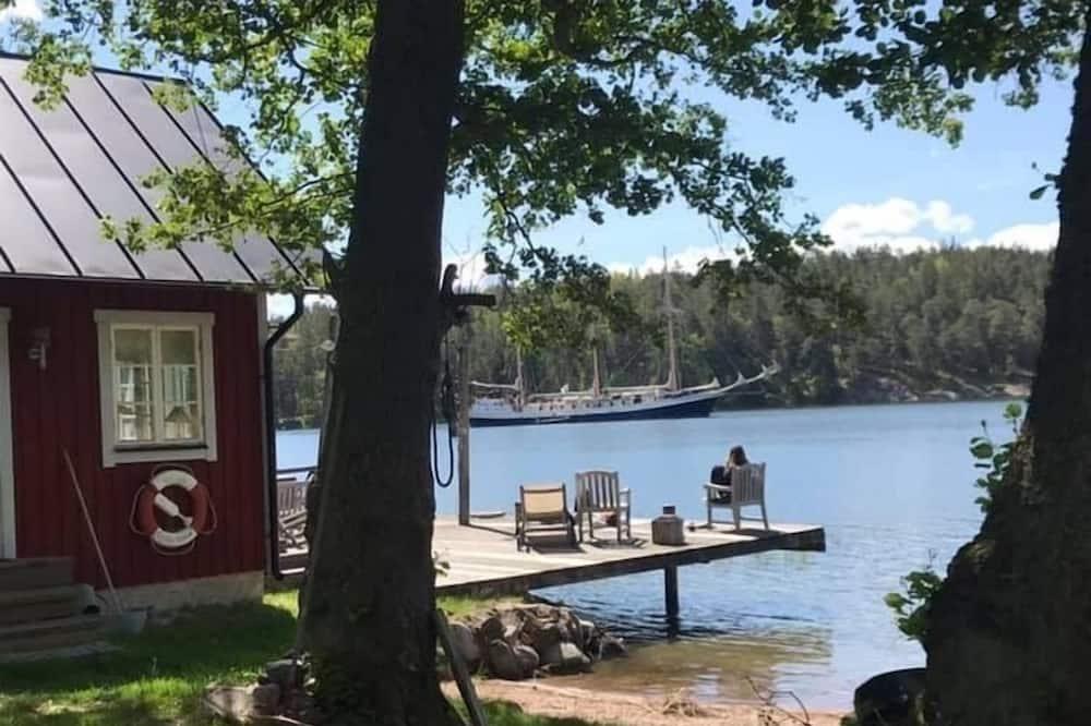 Cabin, Sauna, Lakeside - Water view