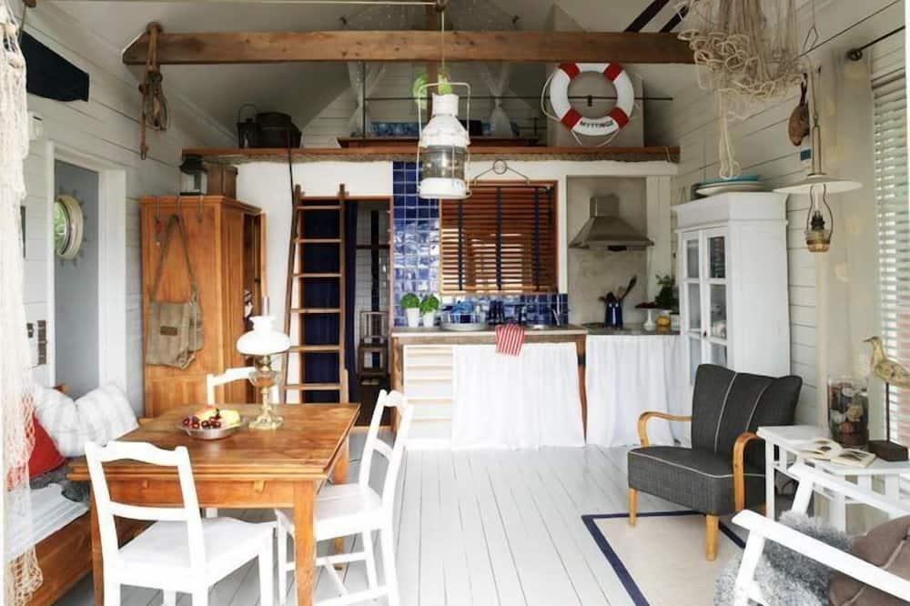 Cabin, Sauna, Lakeside - Living Area