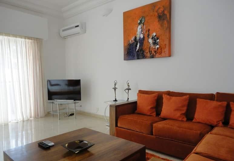錫赫林住宅酒店, 達卡, 標準公寓, 2 間臥室, 客廳