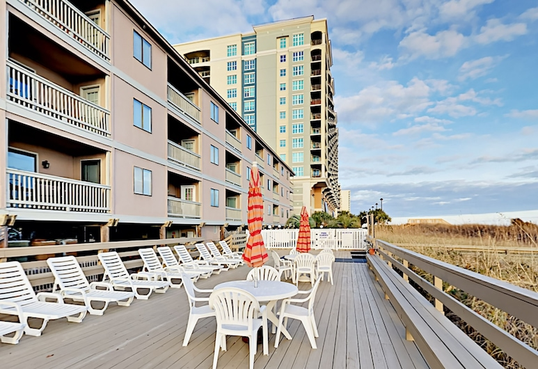Oceanfront 2br W/ Private Balcony 2 Bedroom Condo, North Myrtle Beach, Byt, 2 spálne, Balkón