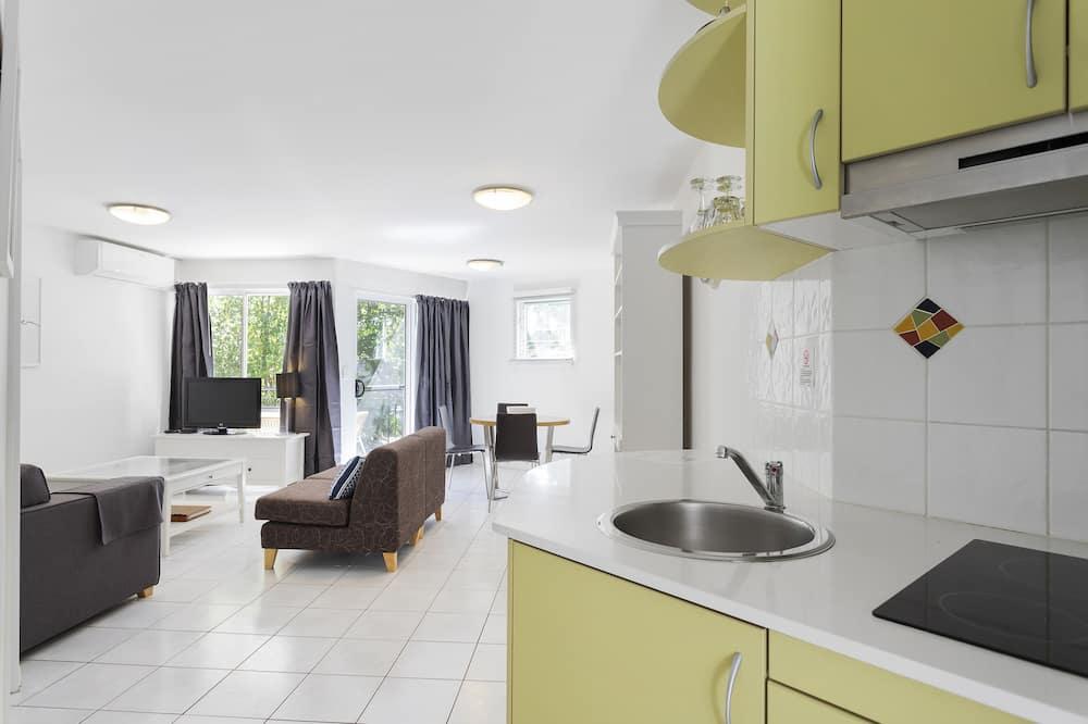 Unit 10B 1 BEDROOM - Living Area