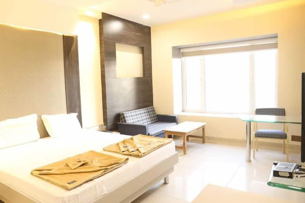 חדר סיטי זוגי, 2 חדרי שינה, נוף לפארק - חדר אורחים