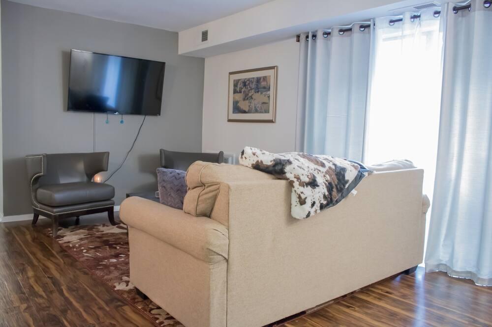 Ekskluzivna jednokrevetna soba, 1 queen size krevet - Dnevni boravak