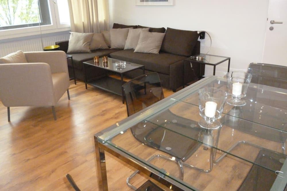 Apartament typu City, 2 sypialnie, kuchnia - Powierzchnia mieszkalna