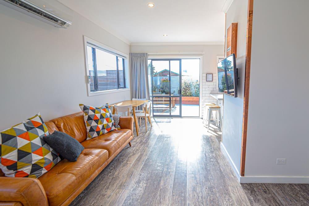Ferienhaus, 2Schlafzimmer, Nichtraucher, Küche - Wohnbereich
