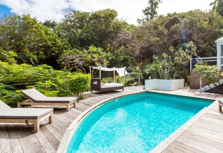Villa With 4 Bedrooms in Gustavia, With Wonderful sea View, Private Pool, Enclosed Garden - 500 m From the Beach, St. Barthelemy