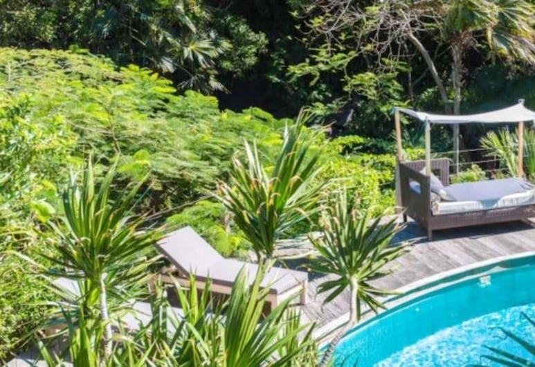 Villa With 4 Bedrooms in Gustavia, With Wonderful sea View, Private Pool, Enclosed Garden - 500 m From the Beach, St. Barthelemy, Vườn