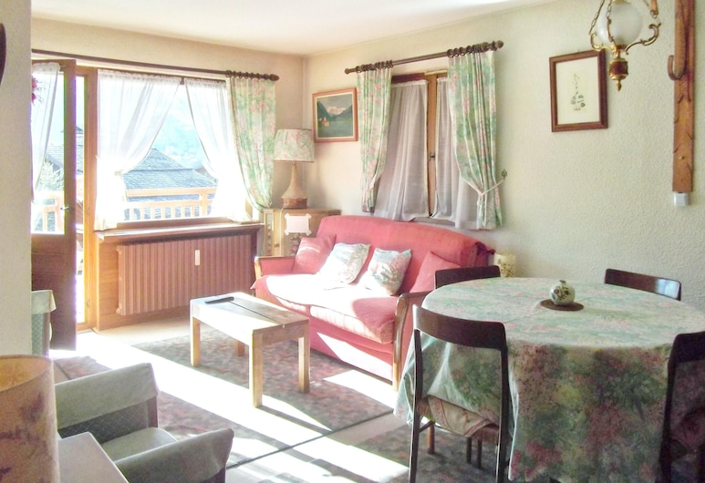Apartment With one Bedroom in Megeve, With Wonderful Mountain View and Furnished Terrace - 10 m From the Slopes, Megeve
