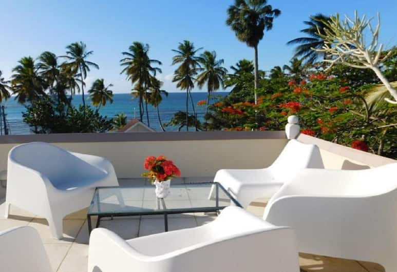 Apartment With 2 Bedrooms in Las Terrenas, With Wonderful sea View, Enclosed Garden and Wifi - 20 m From the Beach, Las Terrenas