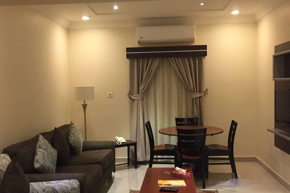 Apartmán, 2 spálne, 2 kúpeľne - Obývacie priestory