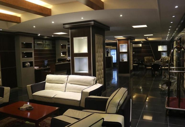 Al Fakhamah Hotel Apartments, Al Khobar, Tempat Duduk di Lobi