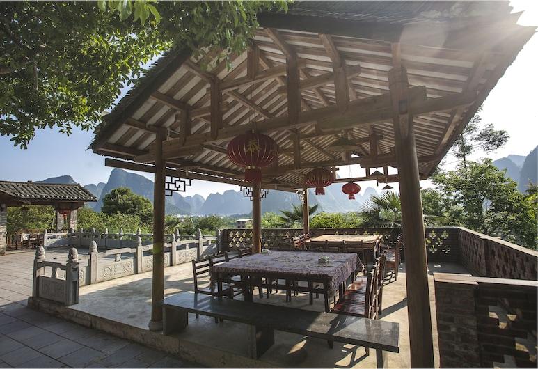 Riverside Retreat Hotel, Guilin, Terrasse/Patio