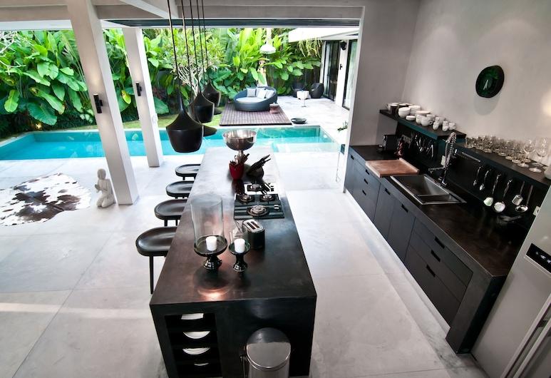 Luxury Villa Prana , Kerobokan, וילת דה-לוקס, 3 חדרי שינה, בריכה פרטית, קומת אקזקיוטיב, אזור מגורים