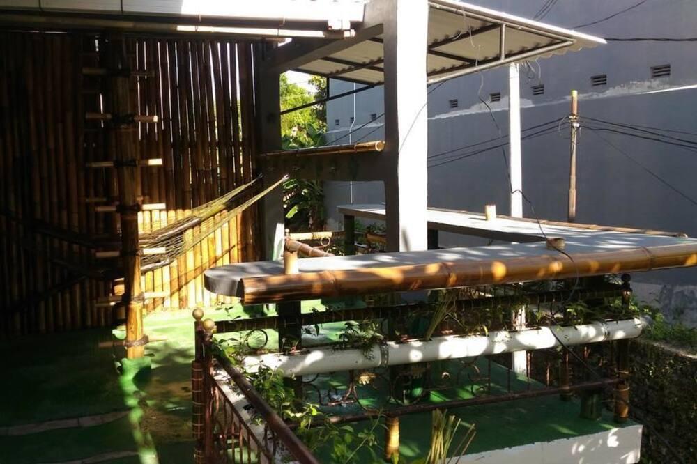Jungle Room Hammock Shared Mixed Dorm - Terrasse/patio