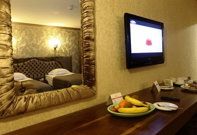 Sarr Tac Mahal Hotel, Ankara, Standardna soba, Dnevni boravak