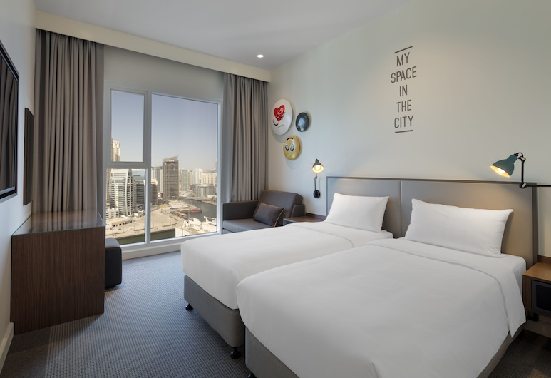Rove Dubai Marina, Dubai, Room, Marina View (Rover), Guest Room