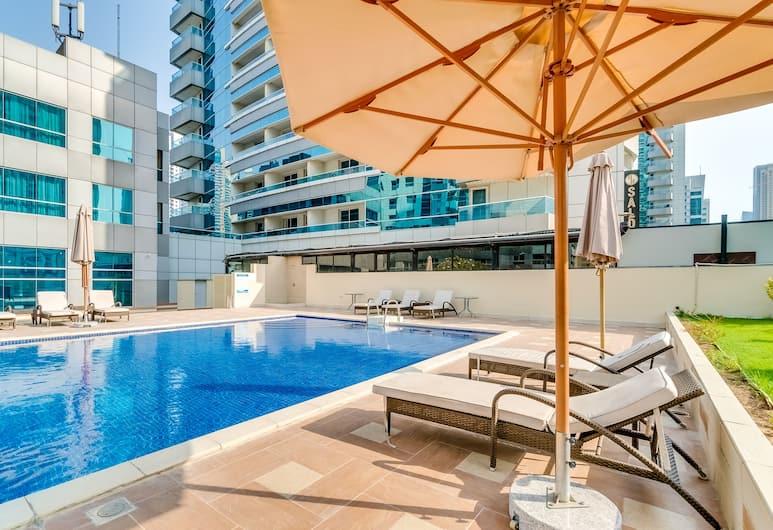 Short Booking - 2 BDR Apartment Marina, Dubajus, Lauko baseinas